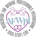 Logo for the Association for Wedding Professionals Int'l.