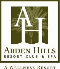 Arden Hills Resort Club  Spa