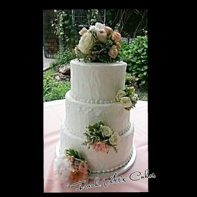 Frank Vilt's wedding Cakes