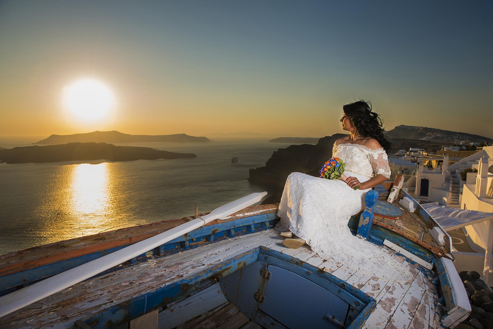 Weddings on boat in Greece