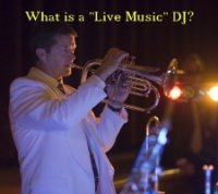 What is a live music DJ?